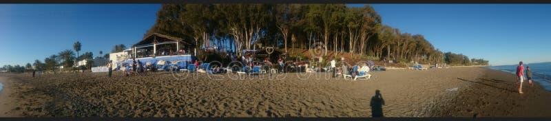 Panorama Marbella immagini stock
