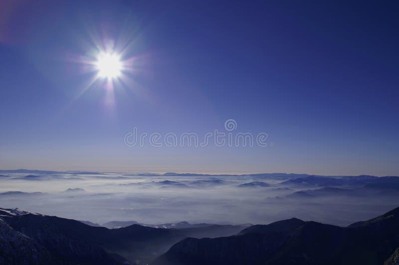 Panorama merveilleux photographie stock libre de droits