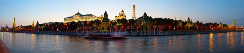 Panorama Moskwa Kremlin fotografia royalty free