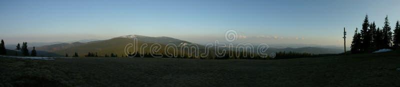 panorama mountain fotografia royalty free