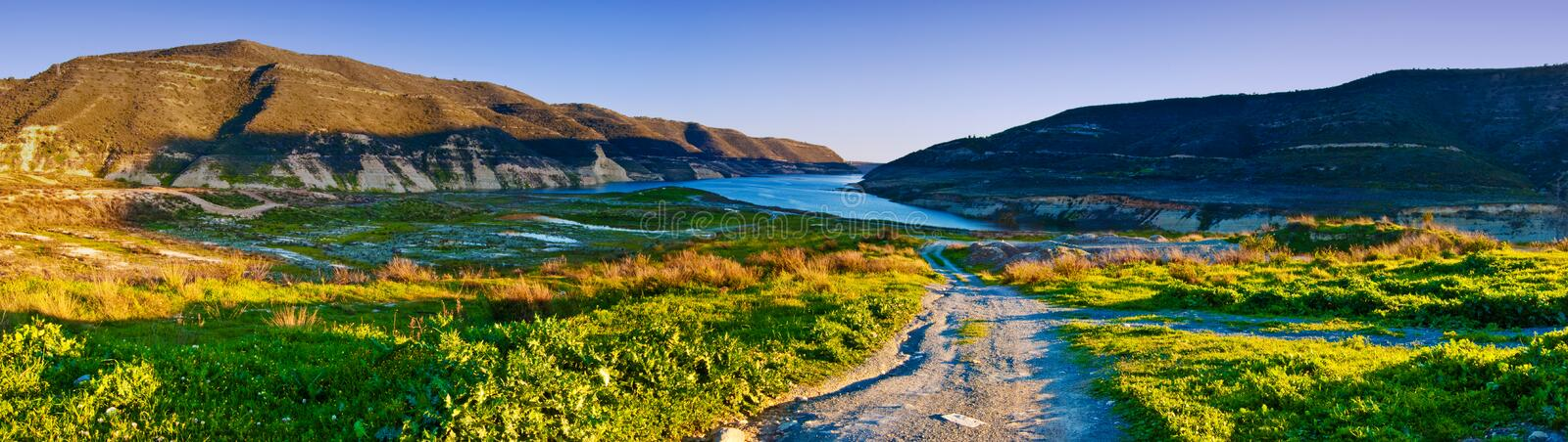 Download Panorama Of The Mountains Of Cyprus Stock Image - Image: 9440315