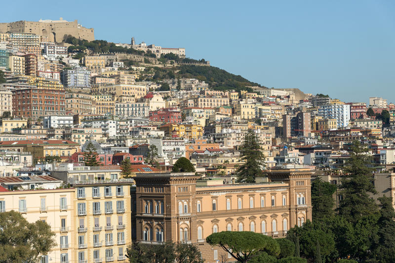 Download Panorama  Of Naples Editorial Stock Photo - Image: 83710378