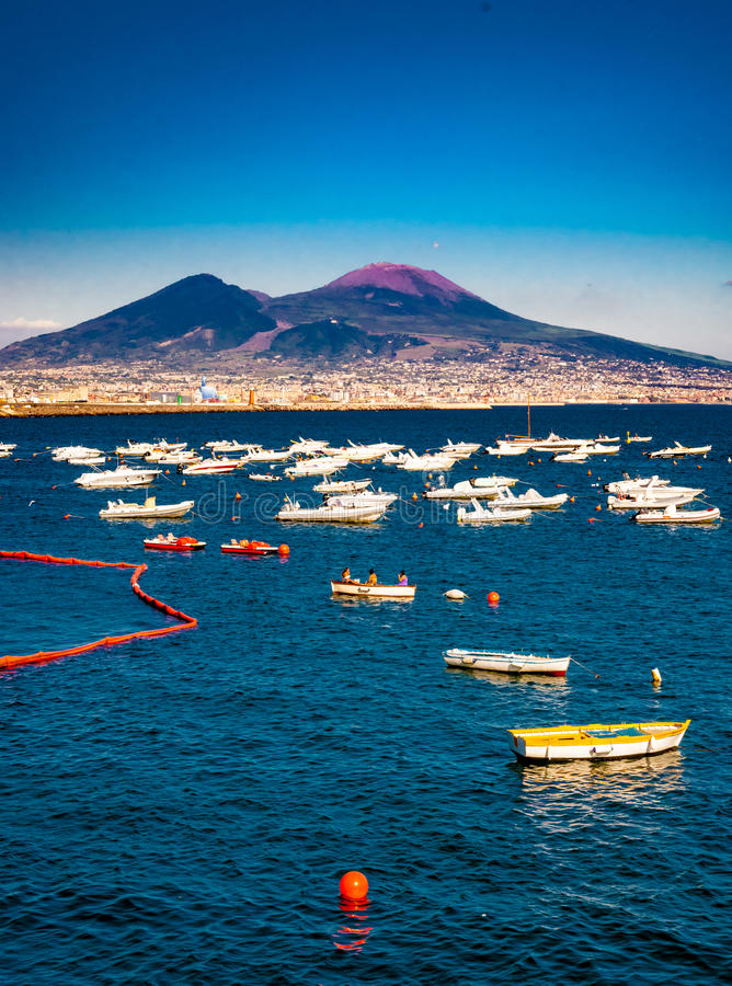 View Of Naples From Posillipo Editorial Photography Image Of