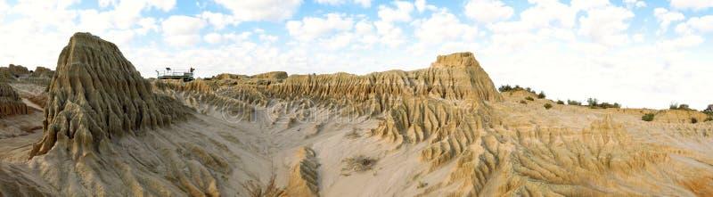 Panorama - Nationalpark des Mungos, NSW, Australien lizenzfreies stockfoto
