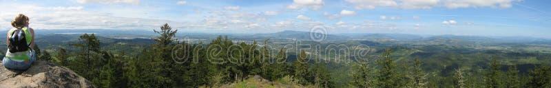 Panorama noroeste do vale fotos de stock