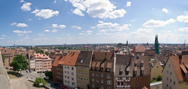 panorama norymbergii obrazy royalty free