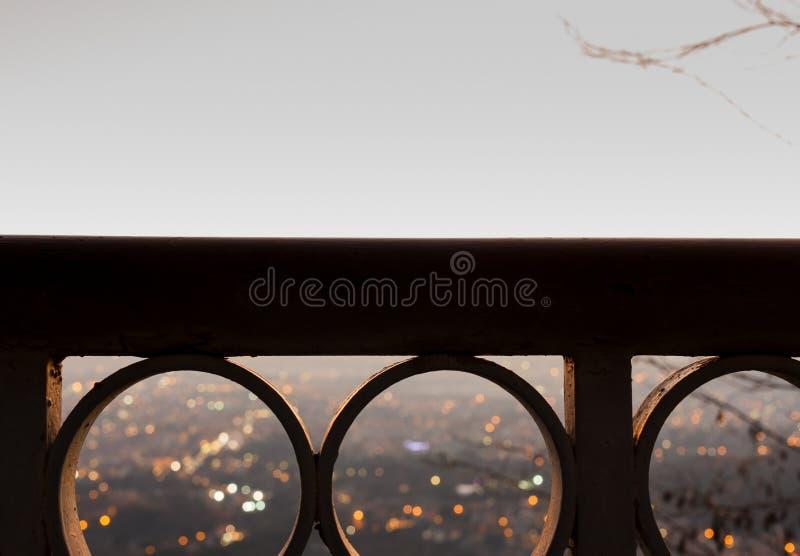 Download Panorama od balkonu obraz stock. Obraz złożonej z tuscany - 106903625
