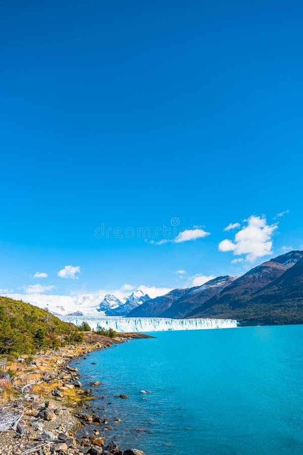 Free Panorama Of Glacier Perito Moreno In Patagonia Stock Photography - 110561192