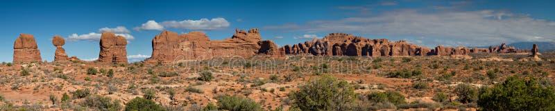 Panorama ogród rajski fotografia stock