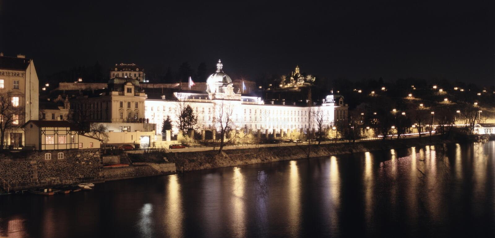 Panorama of Old Praha royalty free stock photography