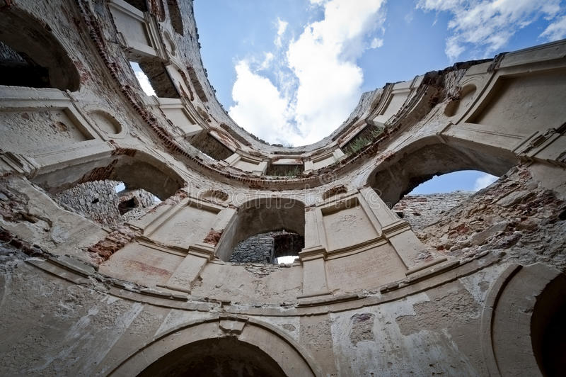 Download Panorama Of Old Ruin Old Krzyztopr Castle In Ujazd Stock Photo - Image: 20479238
