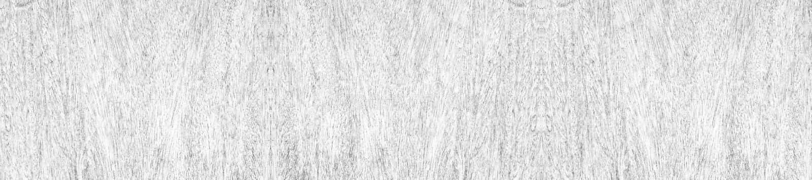 Panorama of old rustic natural grunge black and white wood texture for background royalty free stock photography