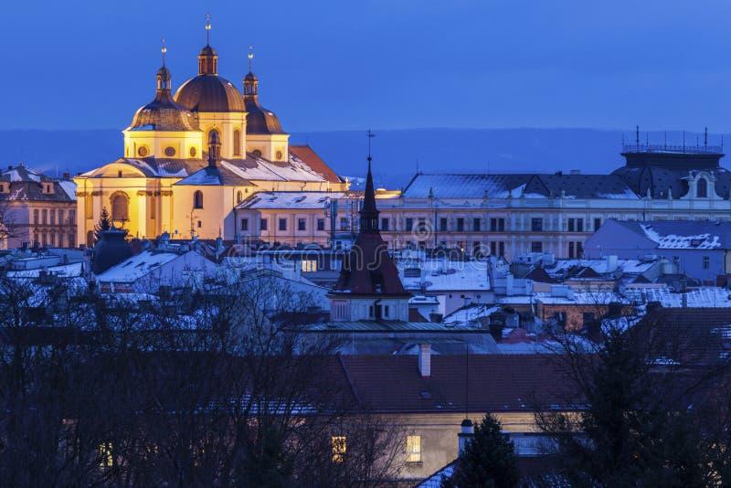 Panorama Olomouc obraz royalty free