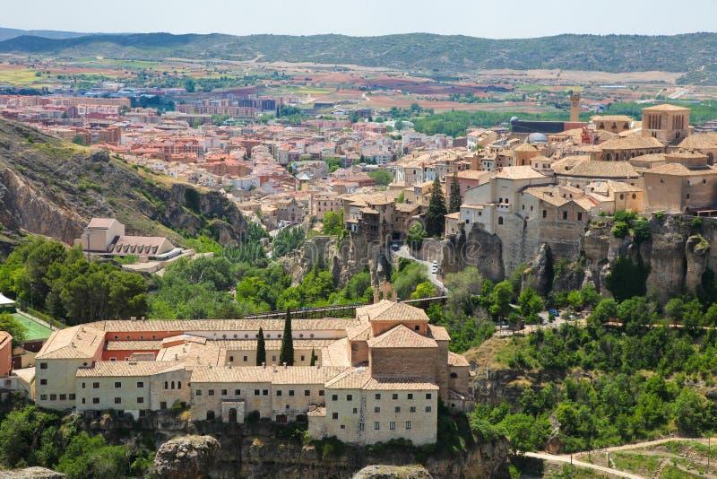 Panorama op Cuenca royalty-vrije stock foto's