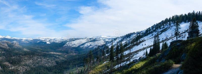 Panorama op Gletsjerpunt stock fotografie