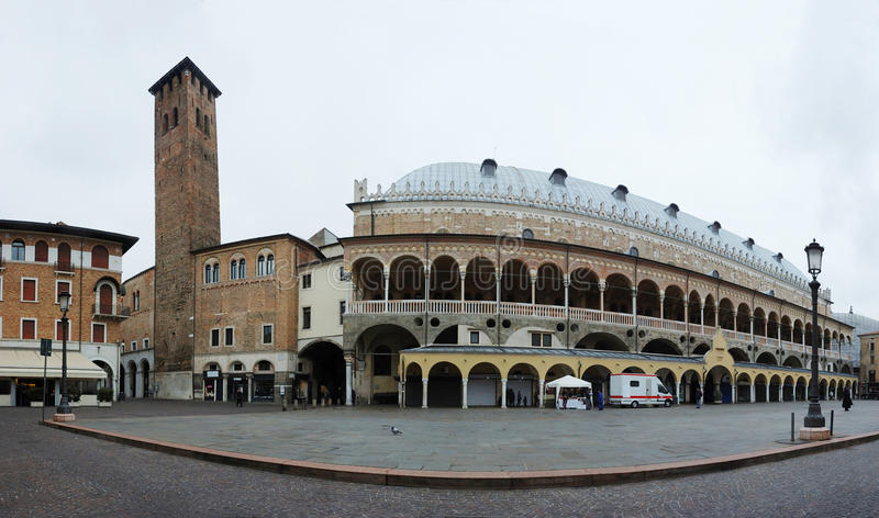 Download Panorama Of Palazzo Della Ragione In Padua, Italy Stock Photo - Image: 25301728