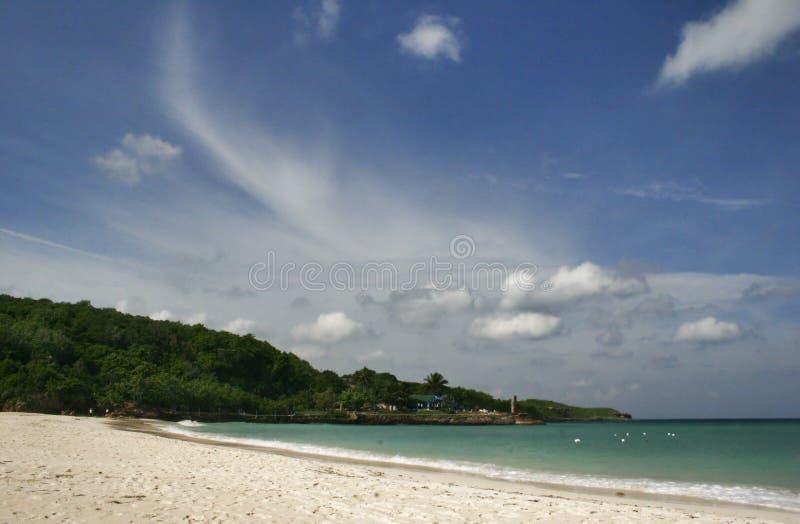 Panorama of paradise stock photos