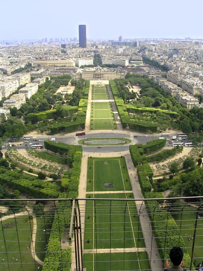 Panorama of Paris royalty free stock photography