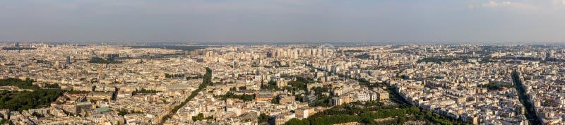 Panorama Paryż od Maine wierza fotografia royalty free