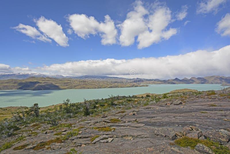Panorama in Patagonië royalty-vrije stock afbeelding