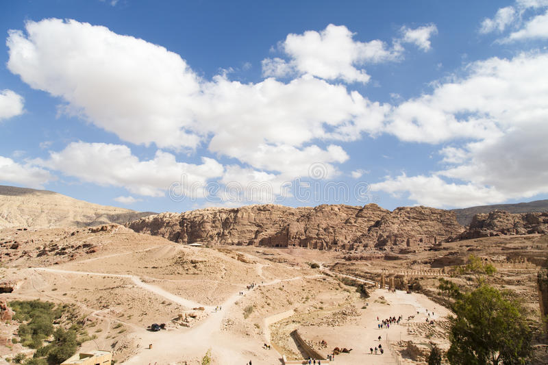 Download Panorama Petra stock photo. Image of landscape, asia - 28775958