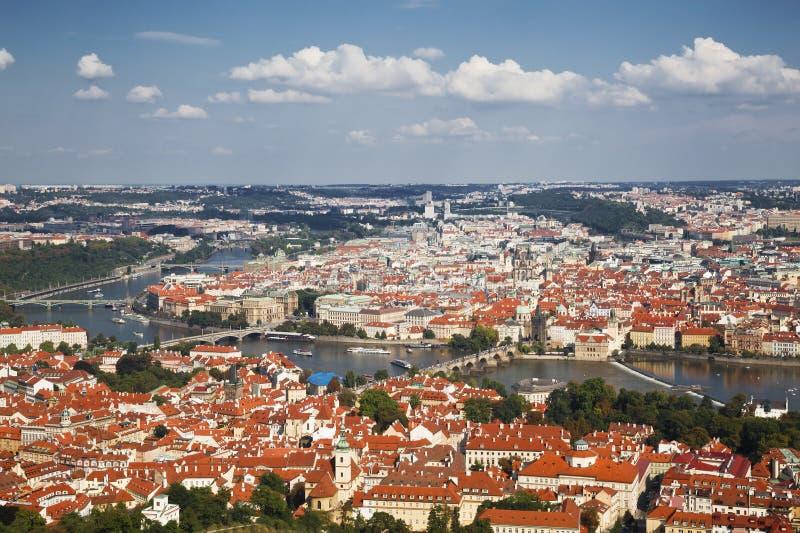 Panorama Praga zdjęcie royalty free