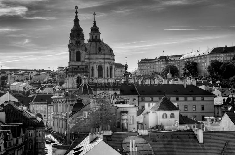 Panorama Praga, zdjęcie royalty free