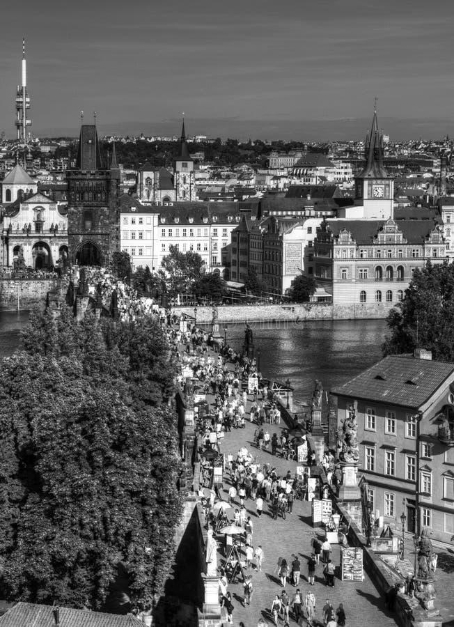 Panorama Praga, fotografia stock