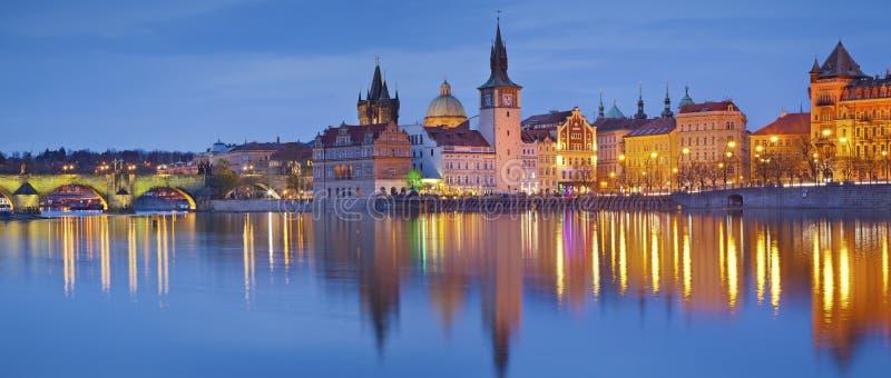 panorama Prague obrazy royalty free