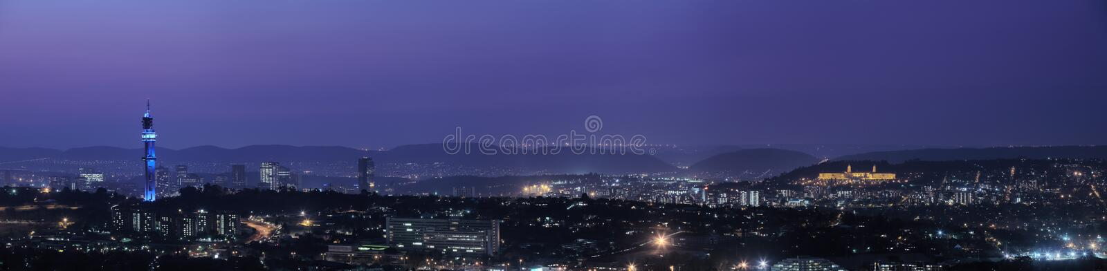 Panorama of Pretoria royalty free stock image