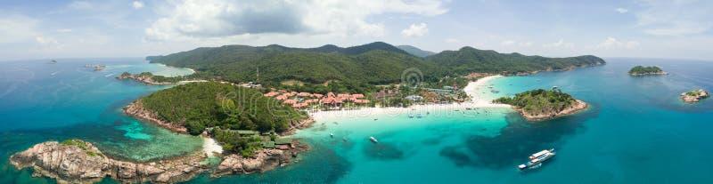 Panorama Redang wyspa zdjęcia stock