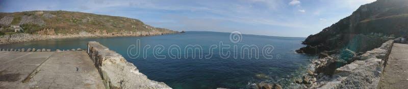 panorama rhodes för fjärdgreece ö arkivfoto