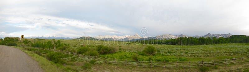 panorama ' rocky góry zdjęcia royalty free