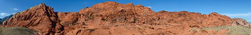Panorama rojo de la barranca de la roca fotos de archivo libres de regalías