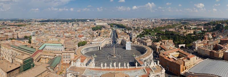panorama Rome zdjęcia royalty free