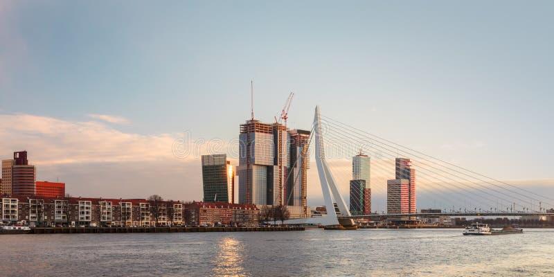 Download Panorama Of The Rotterdam Skyline Stock Photo - Image: 29503880