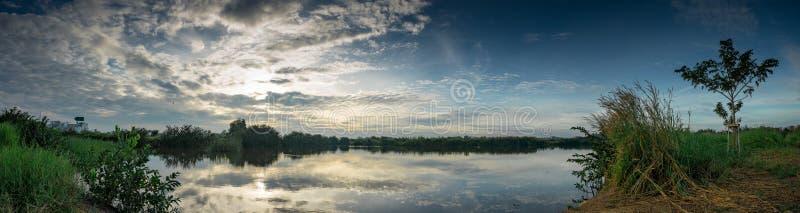 Panorama Of Rural Lake Free Public Domain Cc0 Image