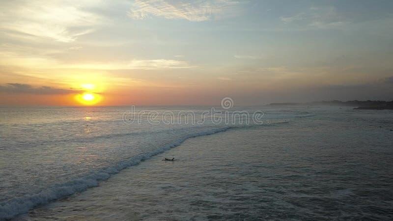 Panorama's van de zon stock foto's