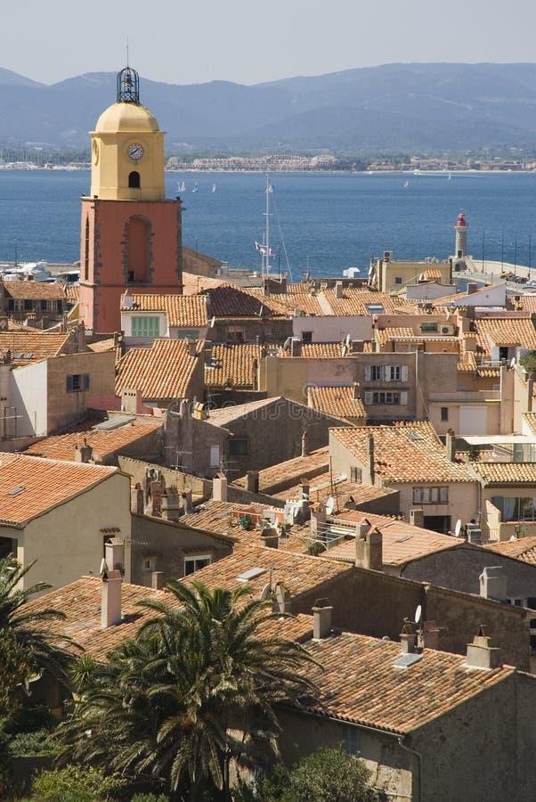 panorama saint tropez fotografia royalty free