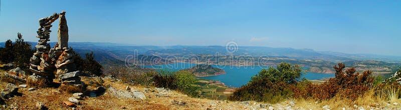 panorama- salagousikt royaltyfria foton