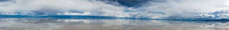 Panorama Salar De Uyuni zdjęcie stock