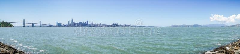 Panorama of San Francisco waterfront , California royalty free stock photos