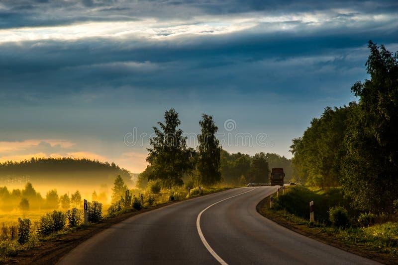 Panorama scénique de nature photos libres de droits