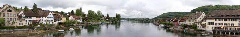 panorama schaffhausen zdjęcie royalty free