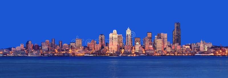 panorama Seattle obraz stock