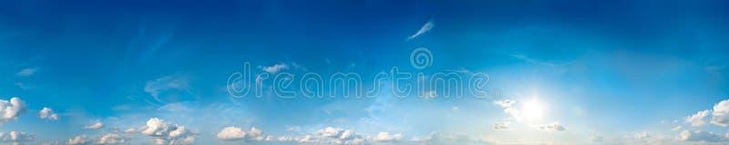 Panorama senza giunte del cielo immagine stock libera da diritti