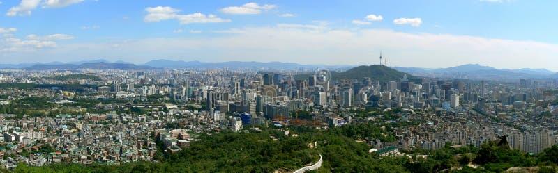 panorama Seoul zdjęcie stock