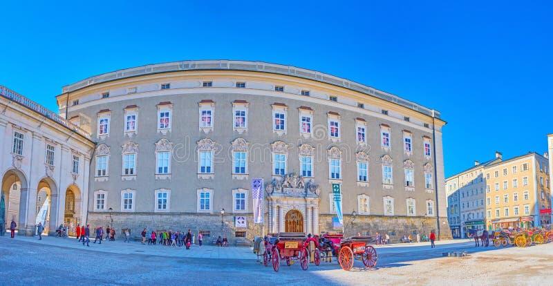 Panorama siedziba stanu pokoje w Salzburg, Austria obrazy royalty free