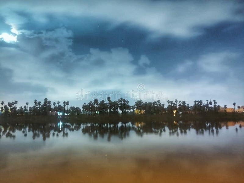 Panorama- sikt av Bolsena arkivbilder