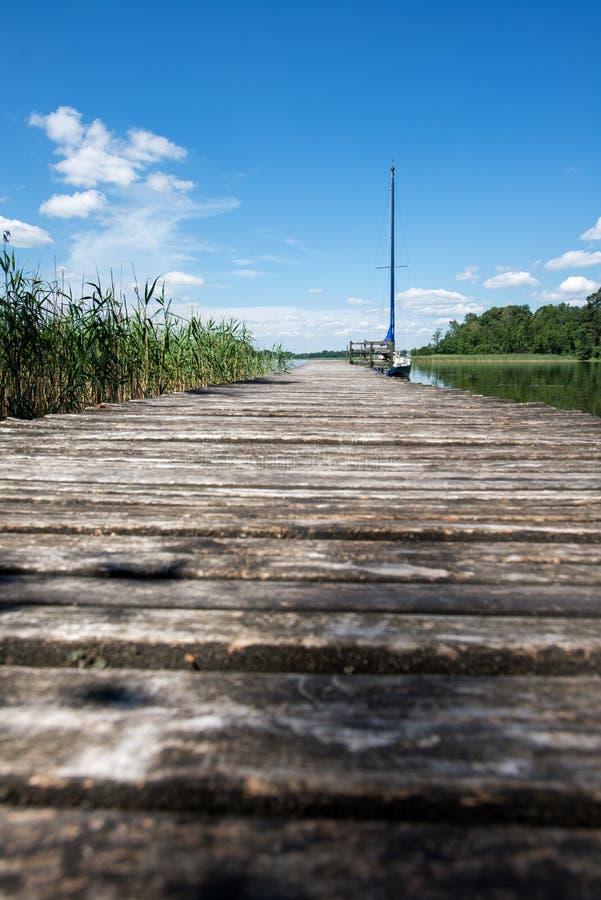 Download Panorama- sjö med fartyget fotografering för bildbyråer. Bild av lake - 78726517